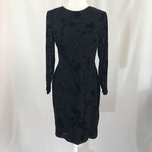 Long sleeves black dress by Ralph Lauren (#185)